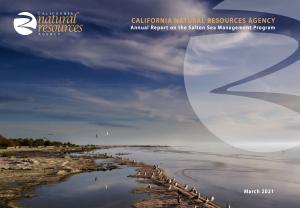 Annual Report on the Salton Sea Management Program